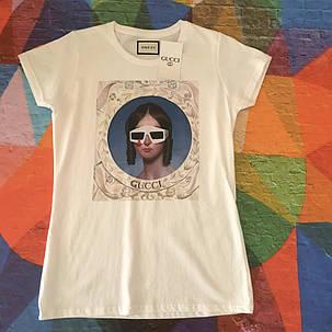 Женская футболка Gucci. Люкс , фото 2