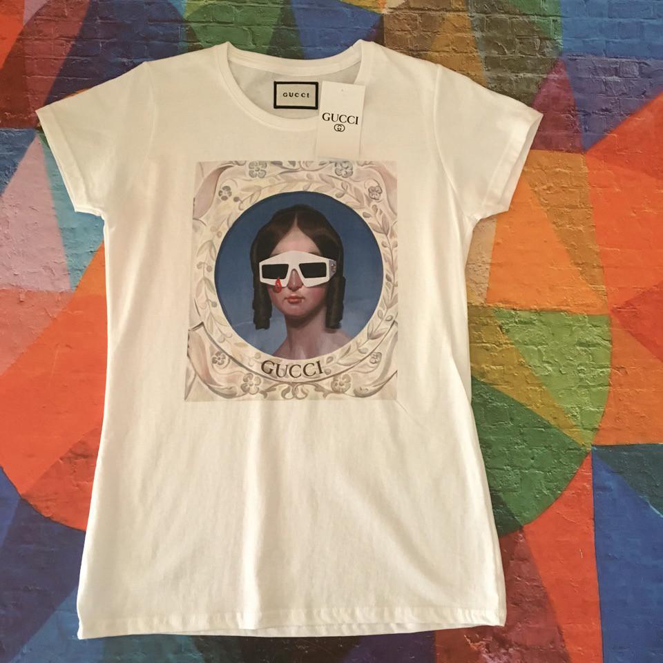 Женская футболка Gucci. Люкс