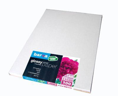 Фотобумага Barva, глянцевая, односторонняя, A4, 230 г/м2, 100 л (IP-CE230-141)