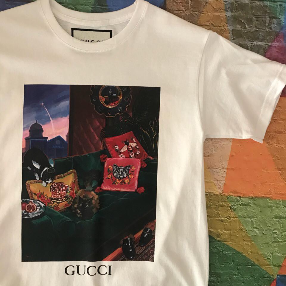 Футболка Gucci home. . Ориг бирка