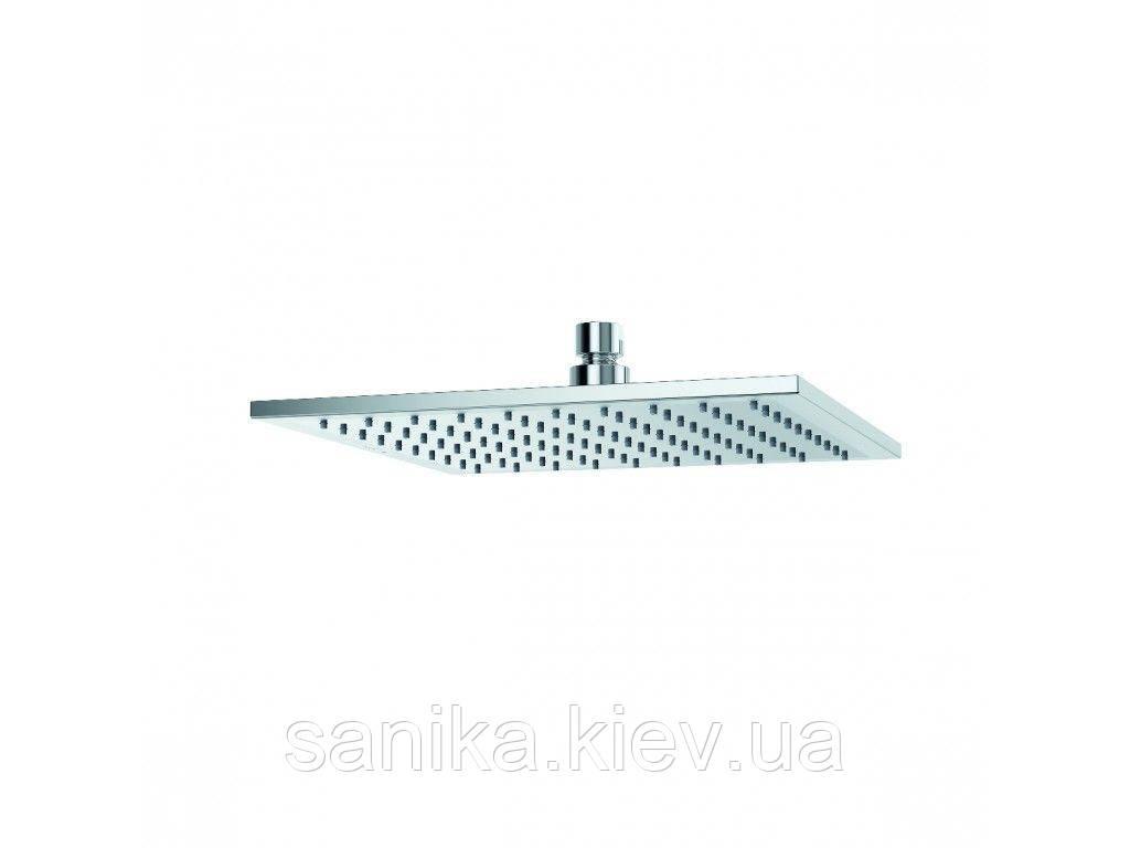Верхний душ KLUDI A-QA, квадратный, плоский, 250 мм