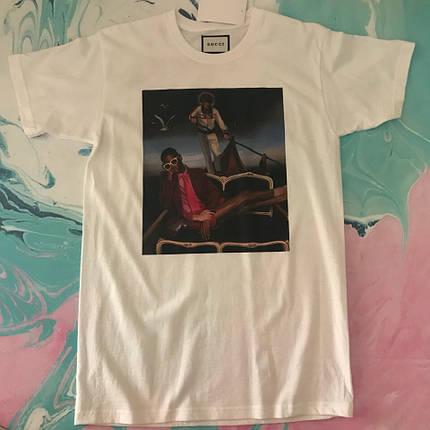 Белая футболка Gucci .  люкс качества, фото 2