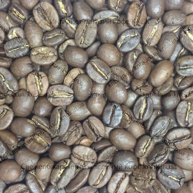 Фото зерен купажа кофе KNBK CARAMEL