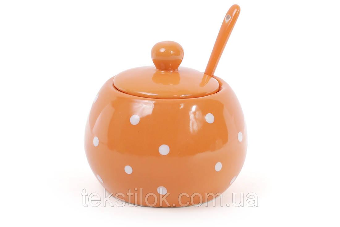 Сахарница керамическая Оранж 350 мл.