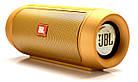 Портативная колонка JBL Charge 2 Золотая Bluetooth,AUX,MicroSD, фото 2