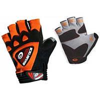 Перчатки EXUSTAR CG930 черно-оранжевые M