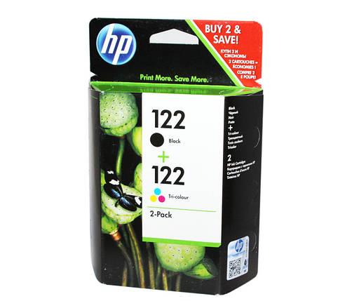 Комплект картриджей HP №122 (CH561HE) + №122 (CH562HE), DeskJet 2050, OEM (CR340HE), фото 2