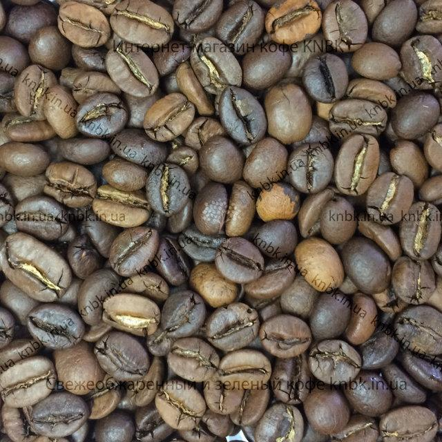 купаж свіжообсмаженної кави (бленд) пополам