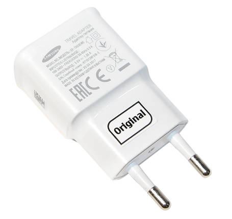 Зарядное устройство Samsung Travel Adapter, White, 1xUSB, 5V / 2A, Bulk (EP-TA50EWE), зарядка для смартфона, телефона, фото 2