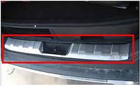 Накладка заднего бампера для Nissan X-Trail 2007-2013