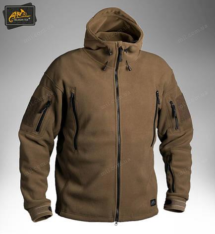 Демисезонная флисовая куртка Helikon-Tex® Patriot (coyote), фото 2