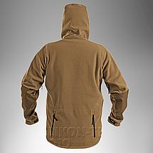 Демисезонная флисовая куртка Helikon-Tex® Patriot (coyote), фото 3