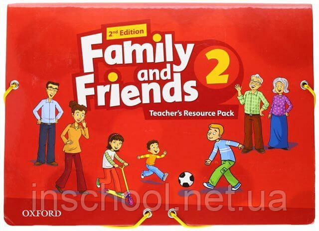 Family and Friends 2nd Edition 2 Teacher's Resource Pack ISBN: 9780194809306
