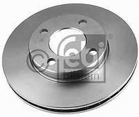Тормозной диск передний  Ауди 100/ 500/ 80/ 90 (пр-во FEBI 08554)