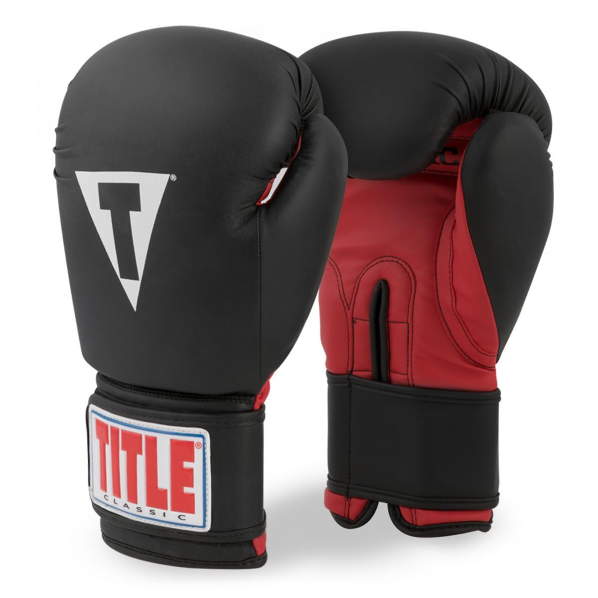 Перчатки для бокса TITLE CLASSIC