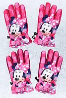 Рукавички лижні для дівчаток Minnie 3-6 років