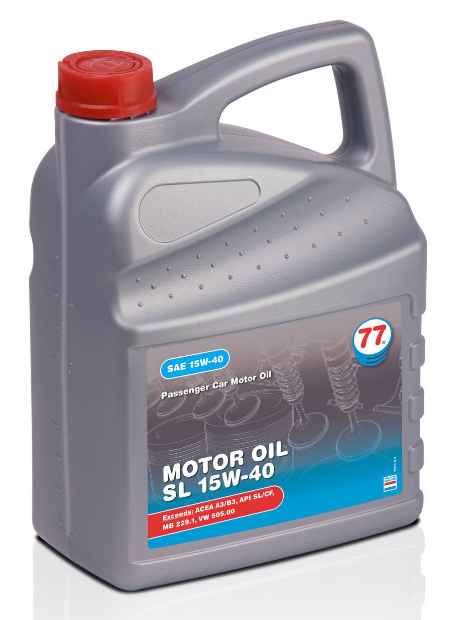 Motor Oil SL 15W-40 (кан. 4 л)