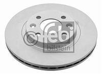 Тормозной диск передний  Дачия, Рено (пр-во FEBI 09073)