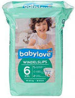 Babylove Windelslips XXL 6 (18-30 кг) - 18 шт подгузники трусики