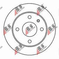 Тормозной диск передний  Форд, Мазда (пр-во A.B.S. 15981)