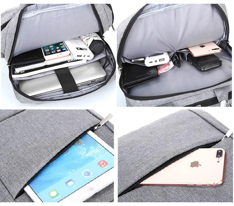 ebd73cd282ab Рюкзак городской Package для ноутбука серый, цена 679 грн., купить в Белой  Церкви — Prom.ua (ID#801017866)