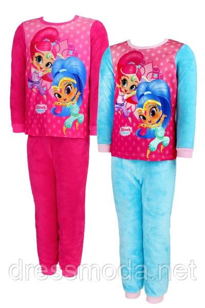 Флисовая пижама для девочек SHIMMER AND SHINE 98-128 р. р.