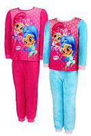 Флисовая пижама для девочек SHIMMER AND SHINE 98-128 р. р., фото 1