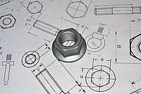 Гайка М6 DIN 6923, класс прочности 8.0, фото 1