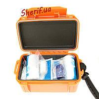 Набор первой помощи MIL-TEC в коробке-аптечка (Оранжевая) - 16025714