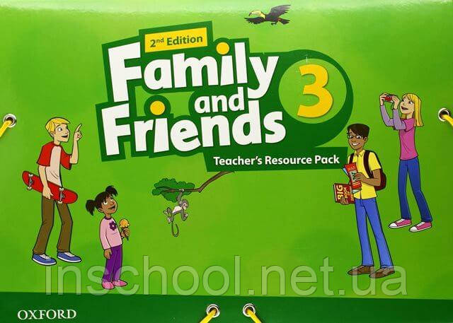 Family and Friends 2nd Edition 3 Teacher's Resource Pack. ISBN: 9780194809313