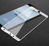 Full Cover защитное стекло для Meizu 15 - White , фото 2