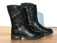Зимние сапоги ботинки для девочки 34-38, фото 1
