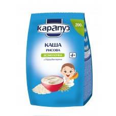 Каша безмолочная рисовая с бифидобактериями  с 4 мес Карапуз 200 гр