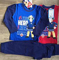 Трикотажна піжама для хлопчиків Fireman Sam 92-116 р. р.