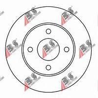 Тормозной диск передний  Форд COUGAR/ GRANADA I/ GRANADA/ Мондео/ SCORPIO (пр-во A.B.S. 16190)