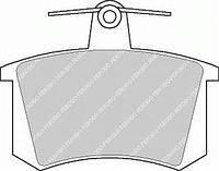 Тормозные колодки задние  ALFA, Ауди, Фиат, LANCIA (пр-во FERODO FDB222)