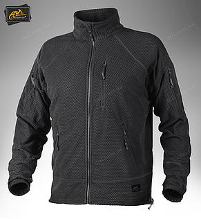 Тактична флісова куртка/ кофта Helikon-Tex® ALPHA TACTICAL (black), фото 2