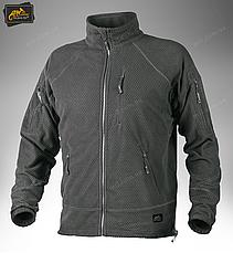 Тактична флісова куртка/ кофта Helikon-Tex® ALPHA TACTICAL (black), фото 3