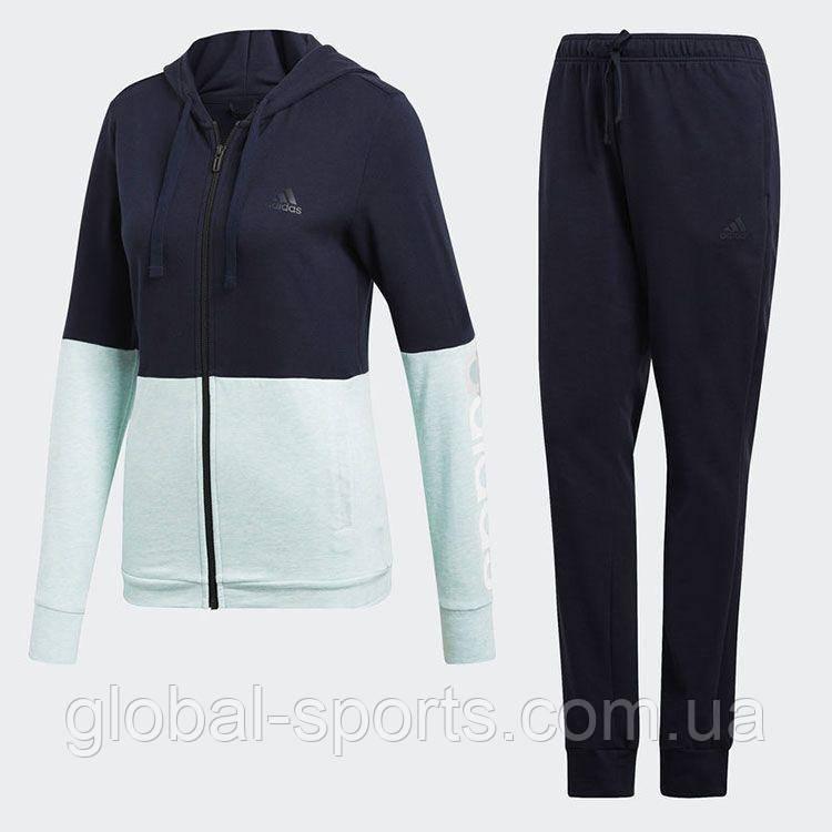 7f9c8477 Женский спортивный костюм Adidas Cotton Marker Track Suit(Артикул:CY3509) -  магазин Global