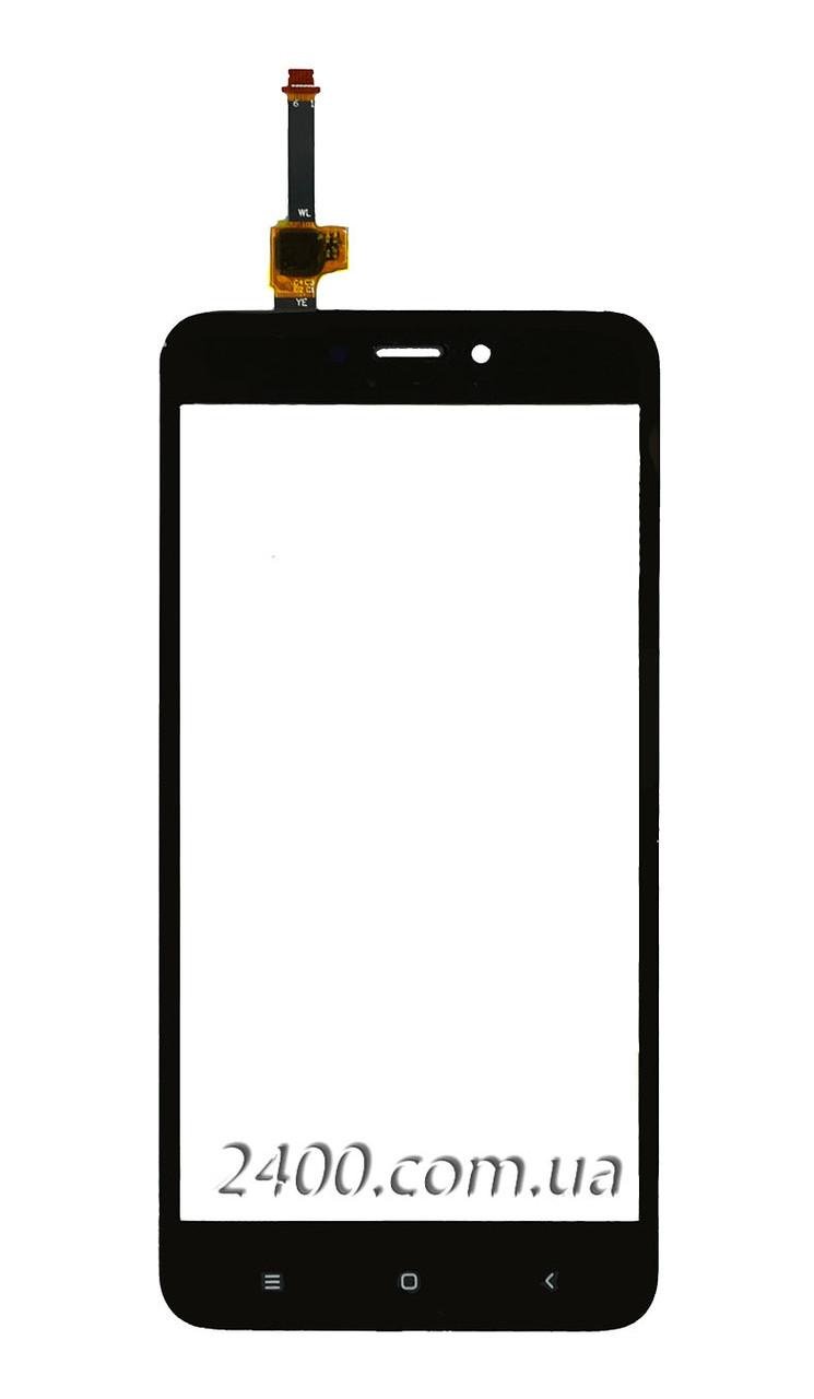 Тачскрин (сенсор) Xiaomi Redmi 4 X телефона черный