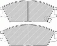 Тормозные колодки передние  Хонда, Хюндай (пр-во FERODO FDB435)