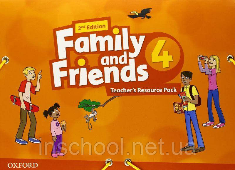 Family and Friends 2nd Edition 4 Teacher's Resource Pack ISBN: 9780194809320