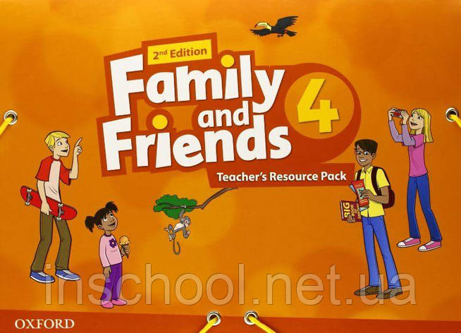 Family and Friends 2nd Edition 4 Teacher's Resource Pack ISBN: 9780194809320, фото 2