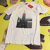 Supreme Tower футболка белая • Бирки топ • Люксовая , фото 3