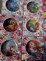 """Набор яркой детской посуды с любимыми мультфильмами """"фиксики"""", фото 1"""