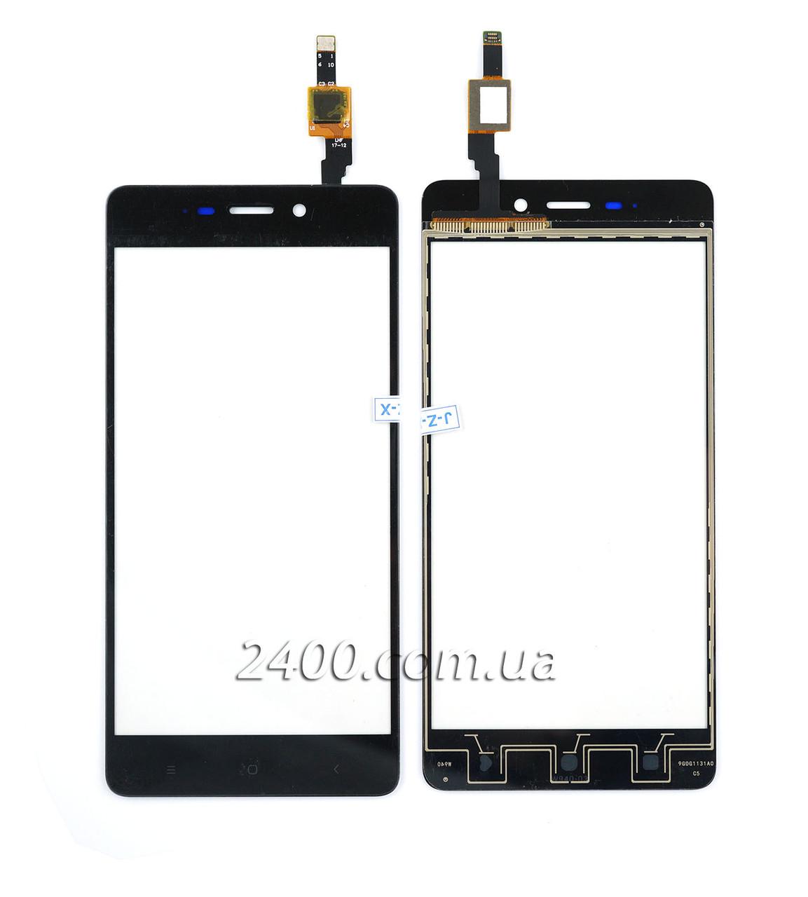Тачскрін (сенсор) Xiaomi Redmi 4 - touchscreen для телефонів Xiaomi Redmi4 (Ксіомі Редмі 4) чорний (black)