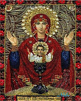 """Набор алмазной вышивки """"Богородица Неупиваемая чаша"""""""