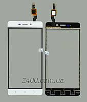 Тачскрин (сенсор) Xiaomi Redmi 4 телефона белый