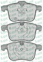 Тормозные колодки передние  Опель, Сааб (пр-во LPR 05P1244)