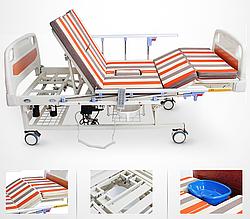 Функциональная кровать с туалетом и ванночкой для реабилитации. Е20-1 Уход за инвалидами, лежачими больными